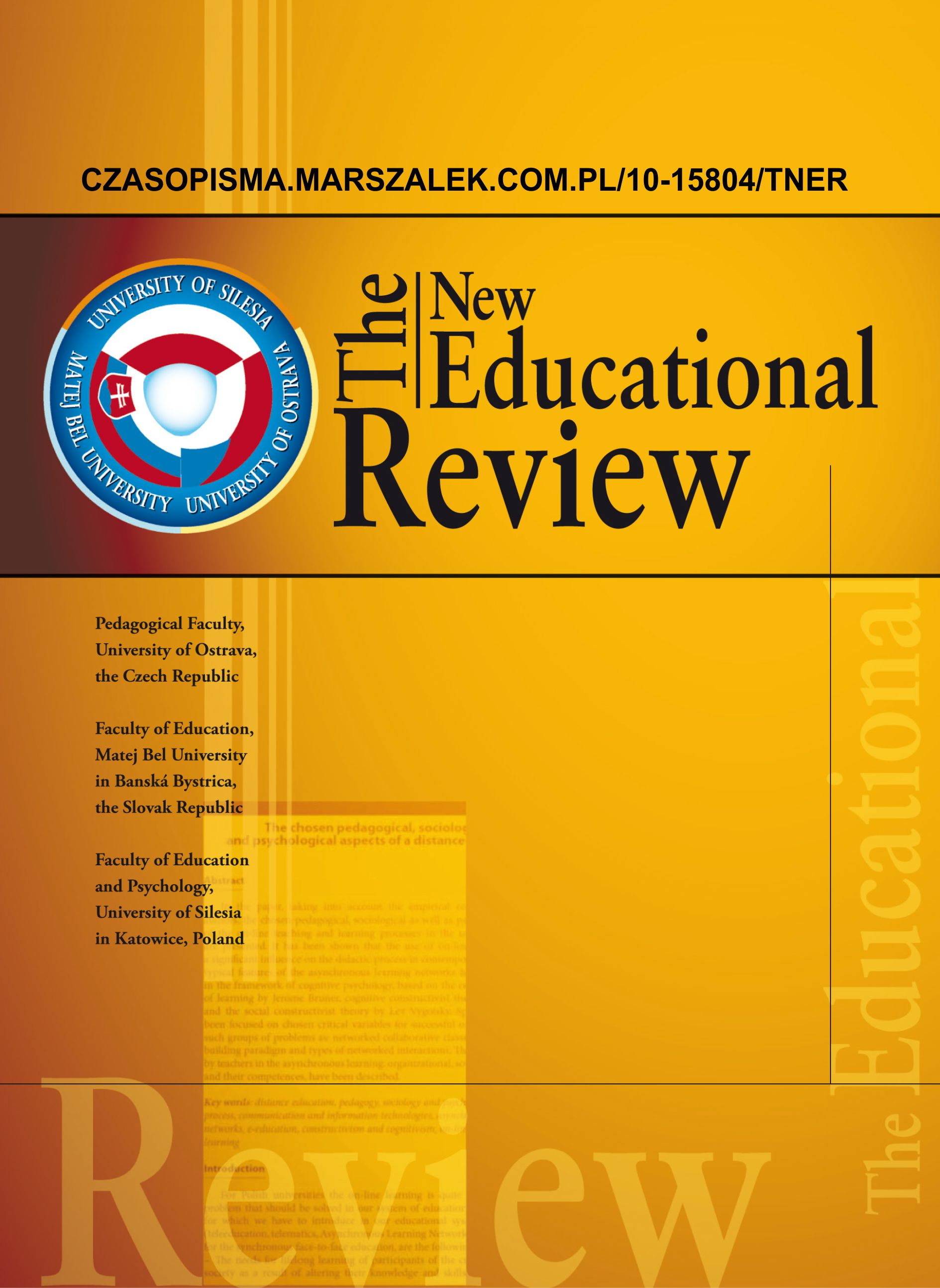 The New Educational Review